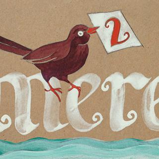 Birthday card for Merel